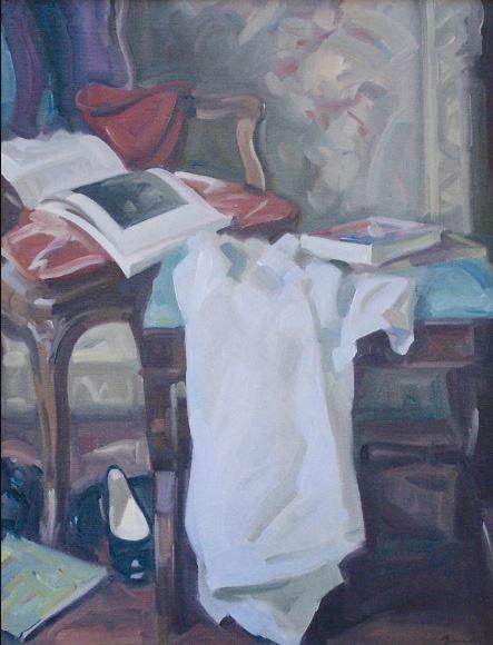 Antony Bream - Still Life Interior - Oil - 36 x 28 in