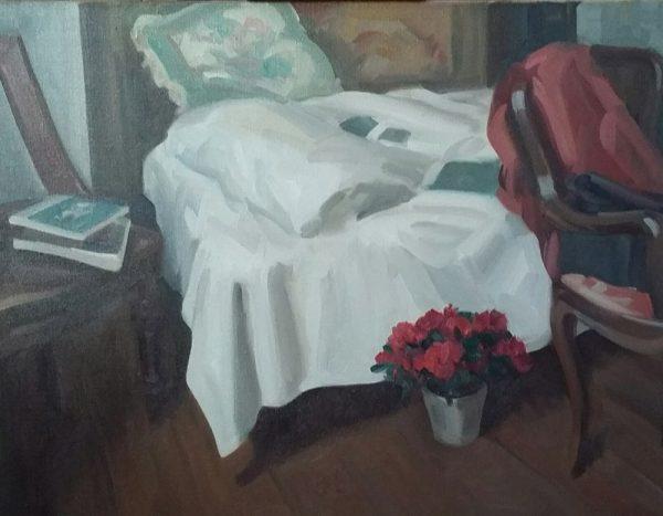 Antony Bream - Studio Interior - Oil - 28 x 36 in