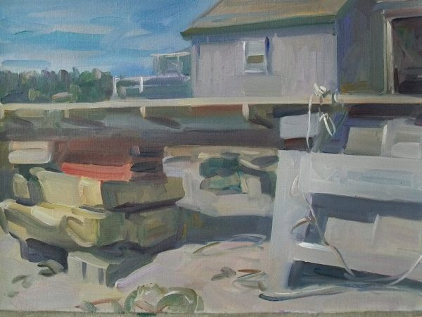 Antony Bream - North Haven, Maine - Oil - 16 x 22 in