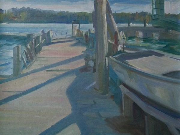 Antony Bream - The Landing, North Haven, Maine - Oil - 24 x 30 in