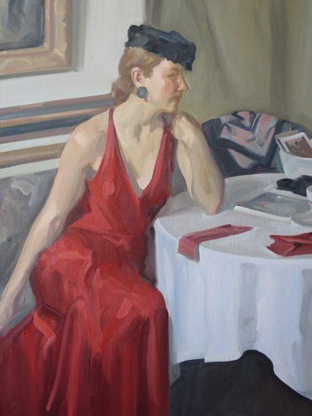 Dasha – oil – 50 x 40 in - £10,000