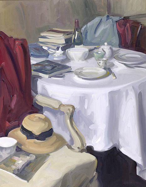Antony Bream - Summer in the country - Oil - 36 x 28 in