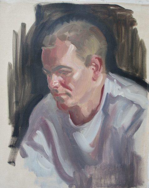 Antony Bream - Walter van Dyk - Oil - 22 x 18 in